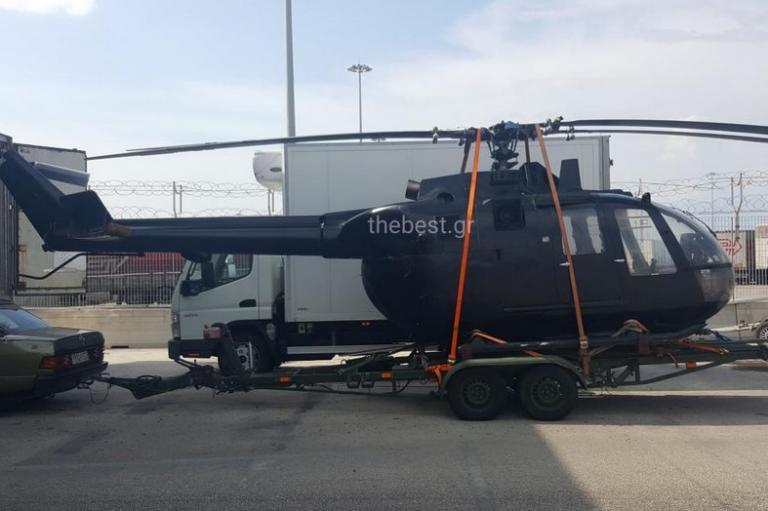 Πάτρα: Αυτό είναι το ελικόπτερο που κατασχέθηκε στο λιμάνι – Ο ιδιοκτήτης δάγκωσε λιμενικό [pics, vid]