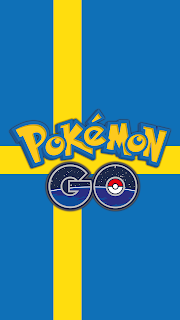 Wallpaper Pokemon GO flag Sweden for Android phone and iPhone Free
