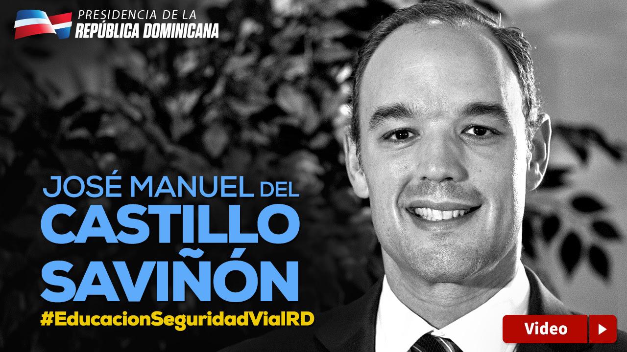 VIDEO: José del Castillo: ¡Sí podemos! Seamos mejores ciudadanos. Salvemos Vidas.