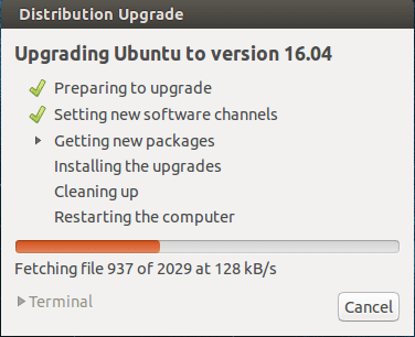 Cara Upgrade Ubuntu 14.04 ke 16.04 LTS
