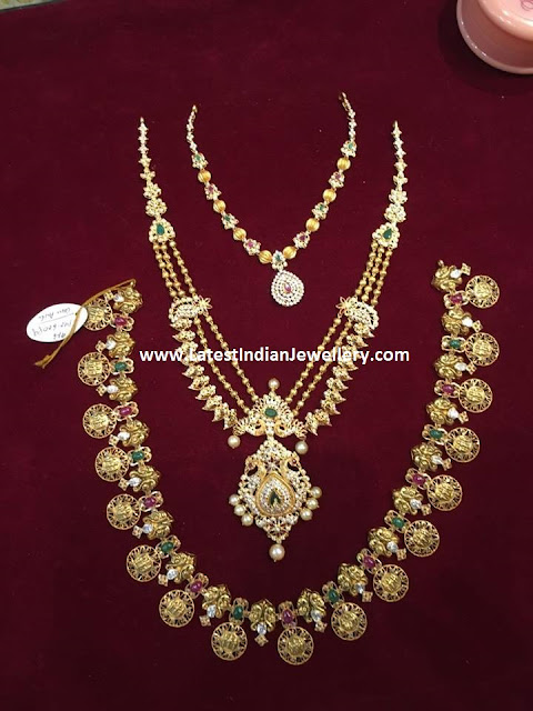 Necklace Designs From Bhavani