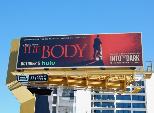 Into the Dark Body hulu billboard