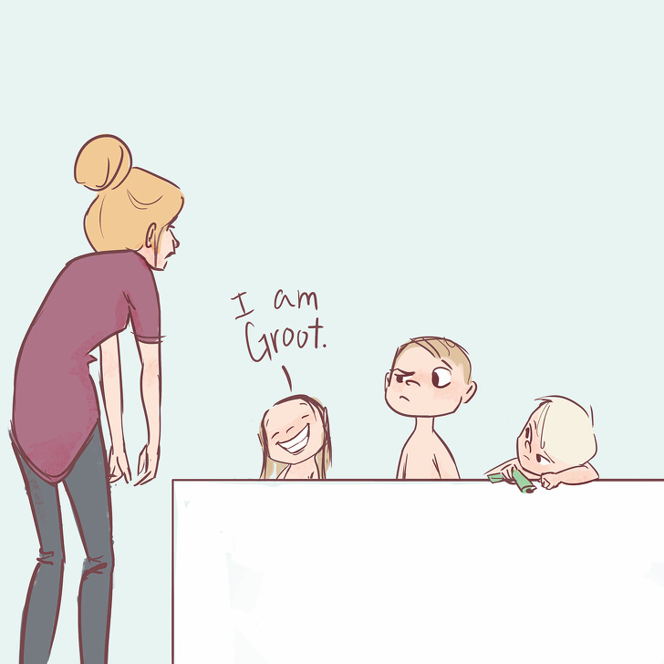11 Honest Comics By A Mormon Mom Of Four Children Depict The Everyday Life Of A Parent