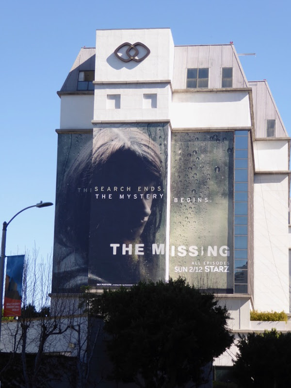 The Missing season 2 billboard