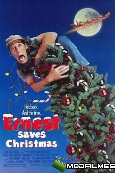 Capa do Filme Ernest Salva O Natal