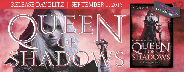 QUEEN OF SHADOWS Release Day Blitz with Giveaway!!!!