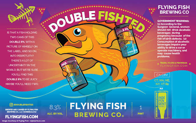 Flying Fish Adding Double Fishted Cans