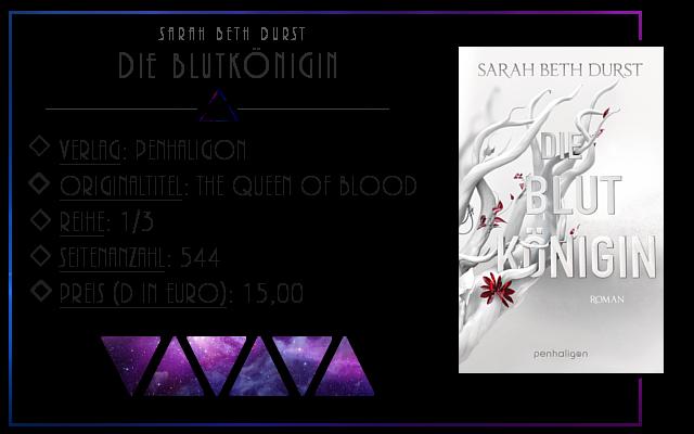 [Rezension] Die Blutkönigin - Sarah Beth Durst
