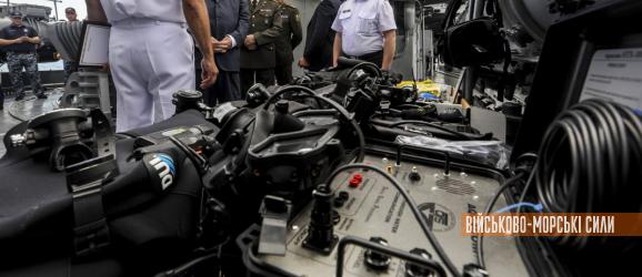 ВМСУ отримали водолазну техніку та спорядження