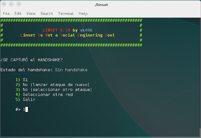 LINSET:  Tool Hacking Wireless (WPA/WPA2) Without Wordlist
