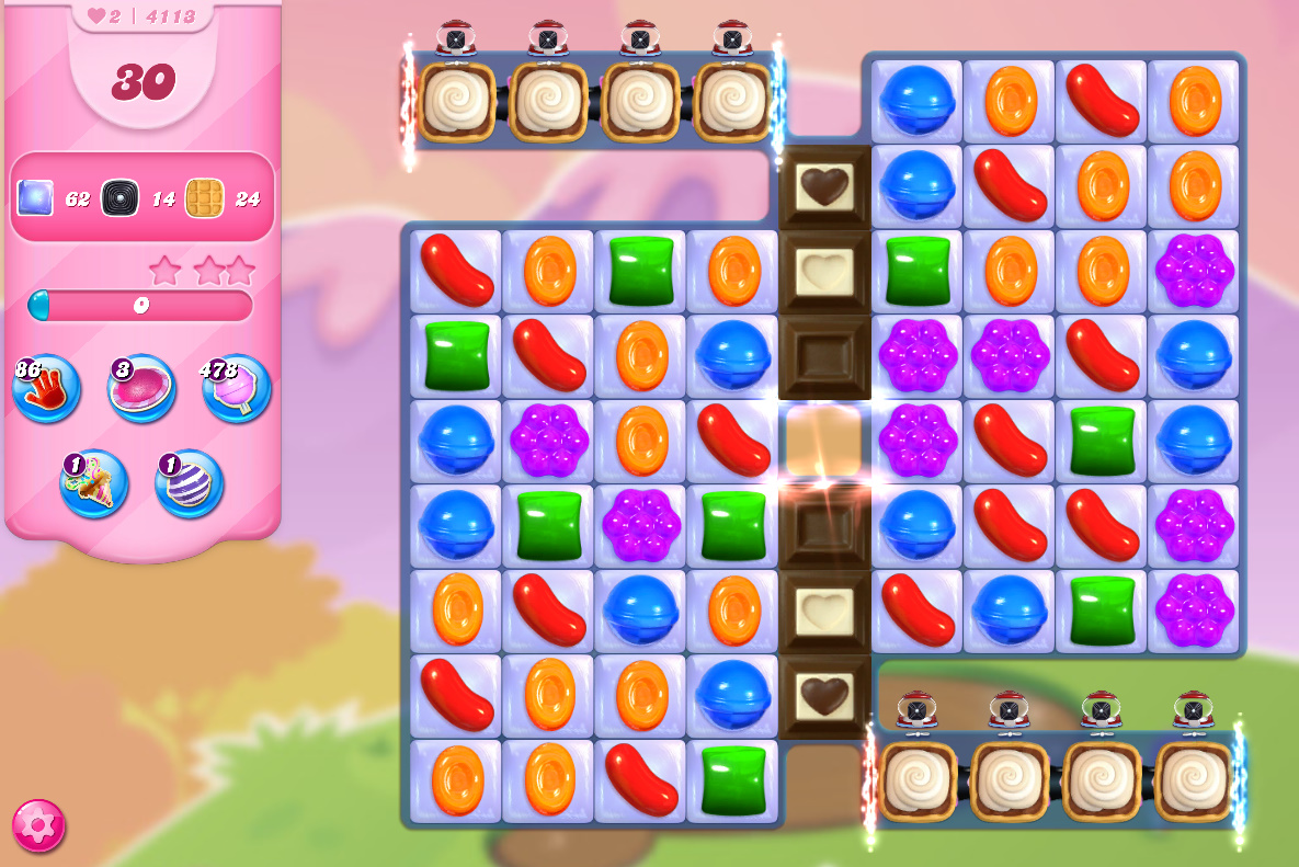 Candy Crush Saga level 4113
