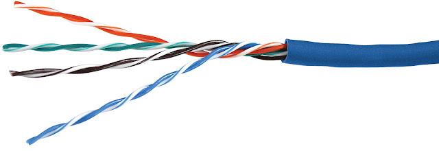 4 pasang kabel stragiht