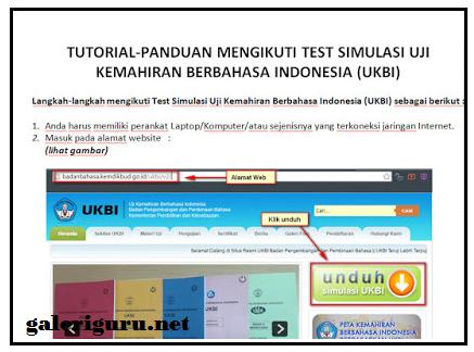 Panduan Simulasi Uji Kemahiran Berbahasa Indonesia (UKBI)
