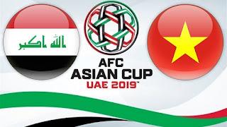 مشاهده مباراة العراق وفيتنام بث مباشر بتاريخ 08-01-2019 كاس امم اسيا