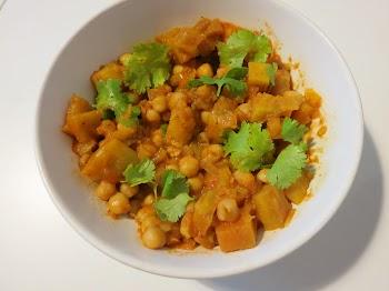 Caril Vegetariano de Batata Doce