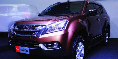 Isuzu MU-X Pasang Mesin Turbo-Diesel 2.5 Liter