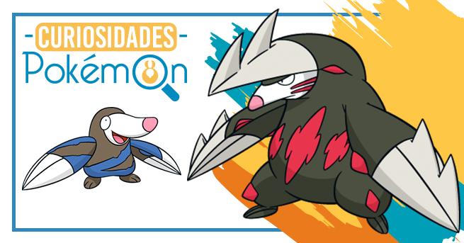 Curiosidades Pokémon: Drilbur e Excadrill