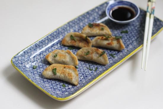 Miso mushroom gyoza UK recipe