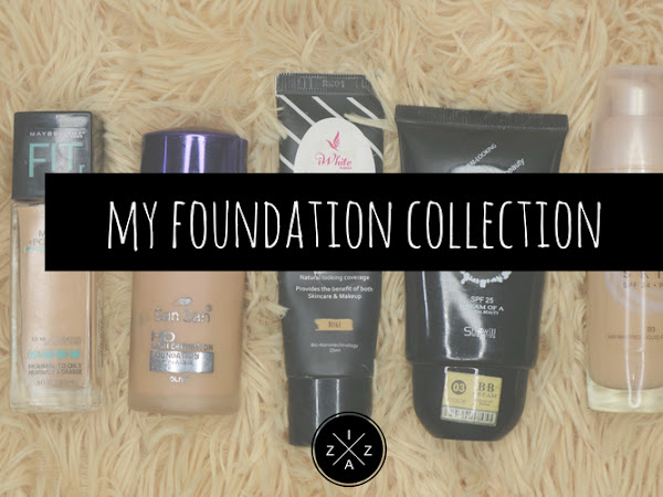 My Foundation Collection and Review for Each