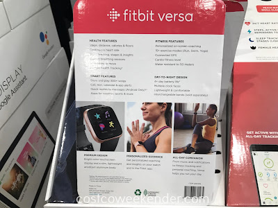 Fitbit Versa Bundle: cheaper than the iWatch