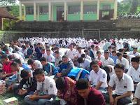Untuk Perkuat Mental Siswa, SMA Islam Al Bashry Sukabumi Gelar Pengajian Kolosal