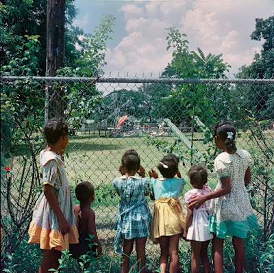 """Outside Looking In, Mobile, Alabama, 1956."""