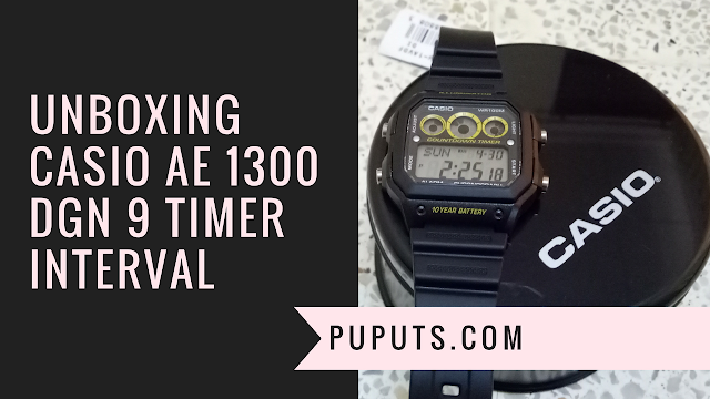 Unboxing Casio AE1300 Dengan 9 Interval Timer