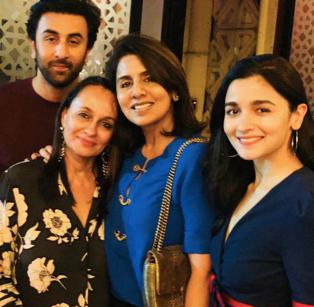 Ranbir Kapoor's Mother Shares a Gorgeous Pic of Him on Instagram