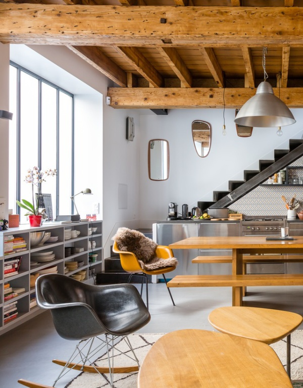 Ristrutturare un loft spunti ed idee case e interni for Look industriale per case