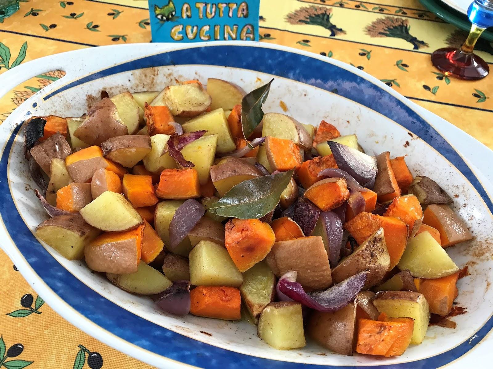 A Tutta Cucina Pirofila Di Patate E Zucca