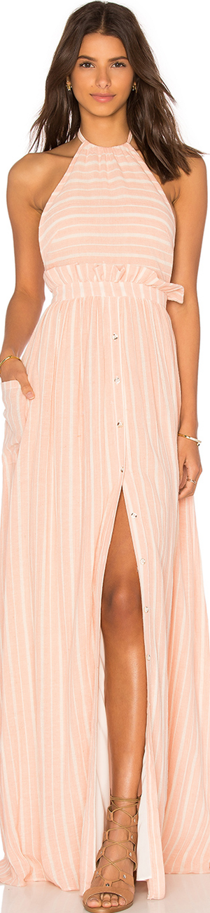 MARA HOFFMAN Pocket Halter Dress