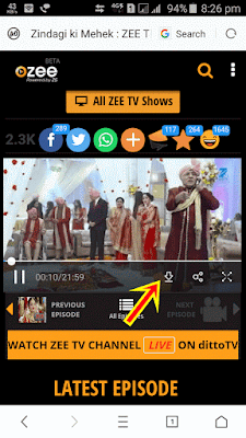 ozee video downloader android mobile