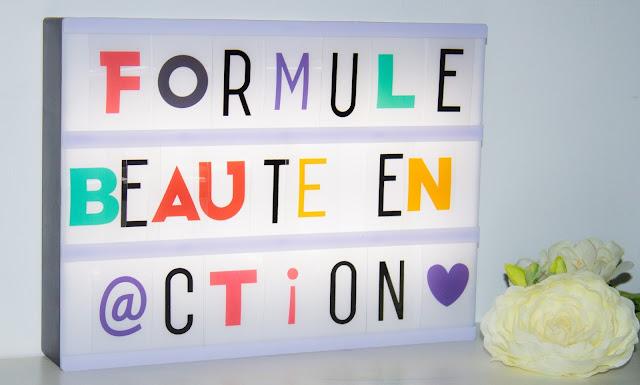 La box Formule Beauté en action : ça donne quoi?
