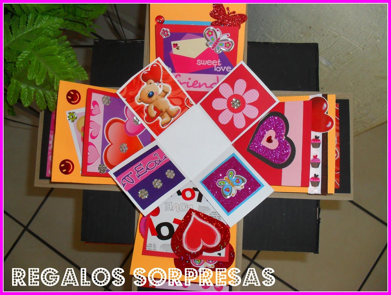 Regalos sorpresas cajas explosivas for Sorpresas para aniversario