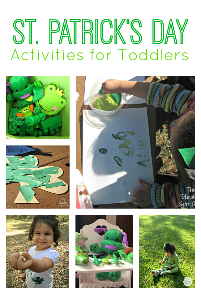 St. Patrick's Day Activities for Toddlers from The Educators' Spin On It