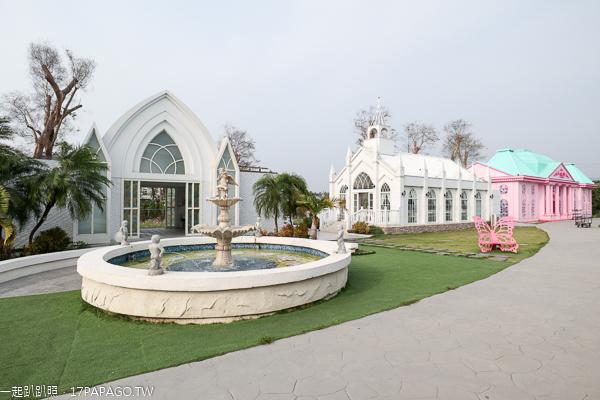 彰化員林琉璃仙境婚紗攝影基地,教堂、風車、彩繪牆,美照拍不停