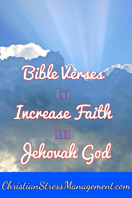 Bible Verses to Increase your Faith in Jehovah God