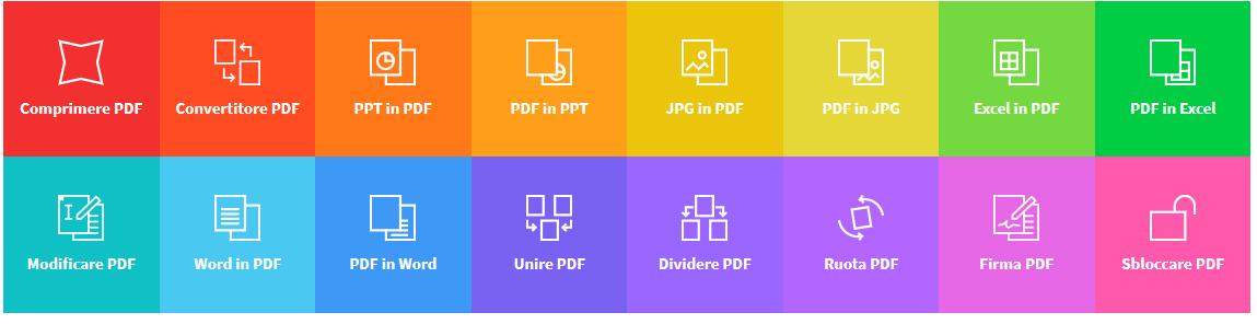 Strumenti per convertire PDF