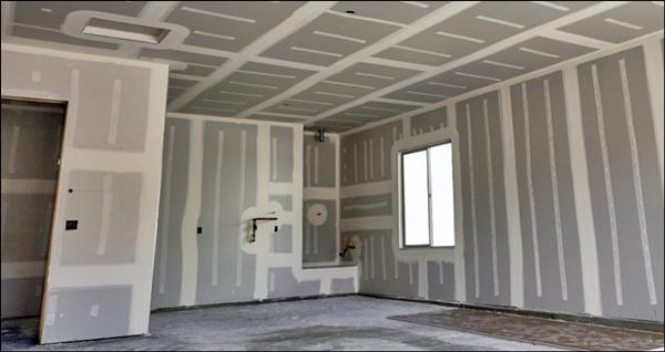 construção drywall