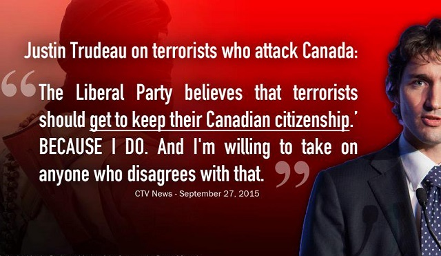 Terrorists keep their Canadian citizenship