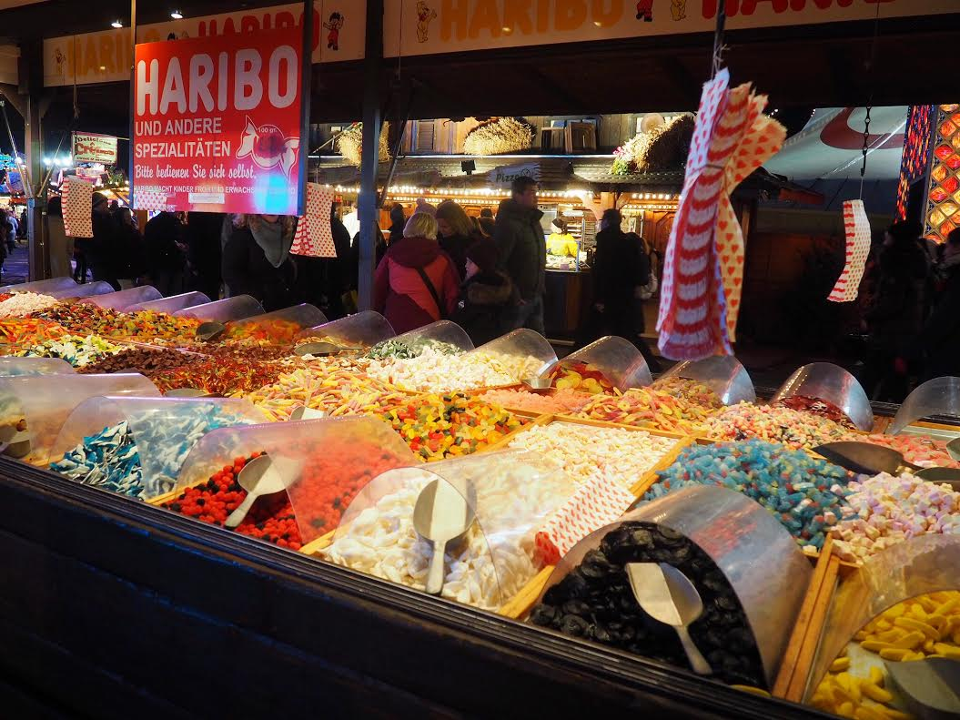 Winter Wonderland pick n mix sweets
