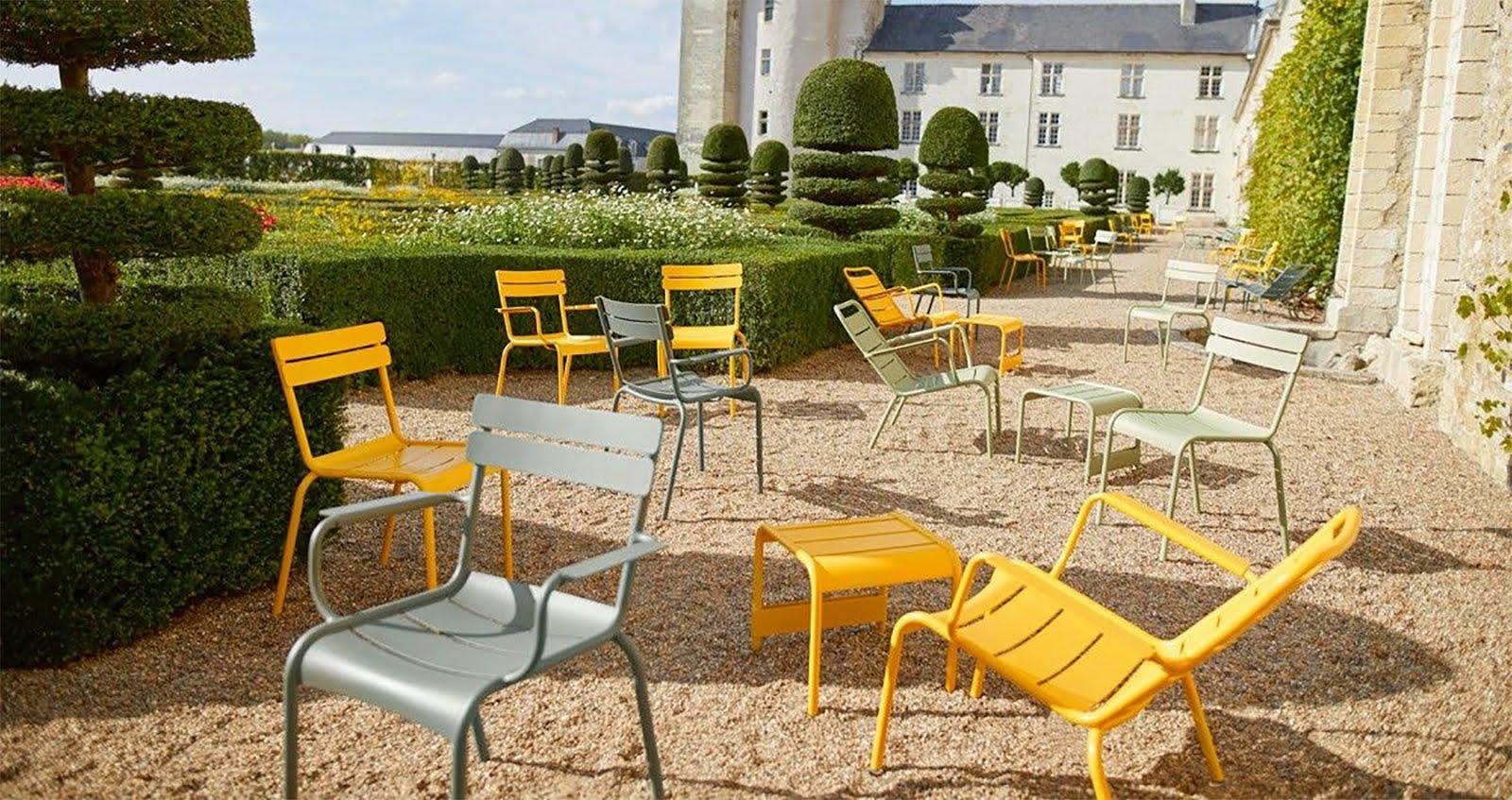 Fermob, tuinmeubels, garden, design, inrichting, 2018, inspiratie, minimal, flinders, luxembourg