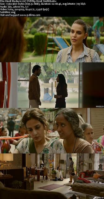 Hindi Medium 2017 DVDRip Hindi 700MB