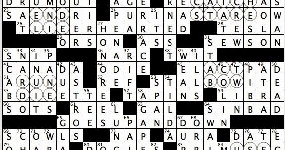 Adventure time dating tiers crossword