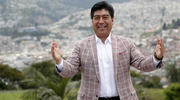 Jorge Yunda, nuevo alcalde de Quito
