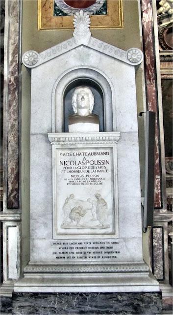 Tumba de Nicolás Poussin