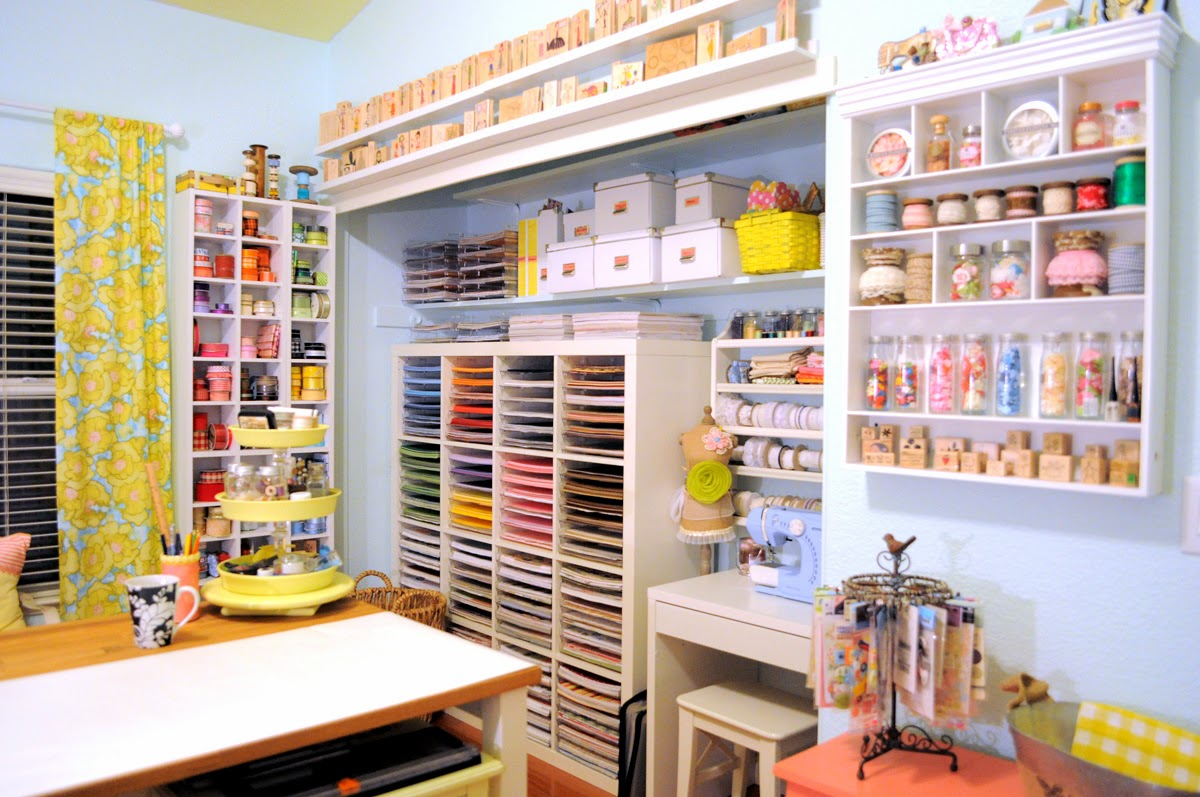 Craft Room Organisation: Hand To Paper, Regina Easter