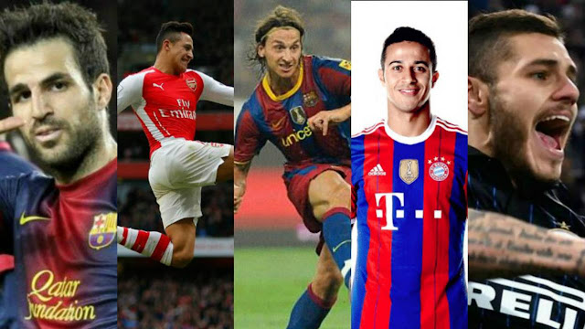 5 World Class Players who Rejected Barcelona