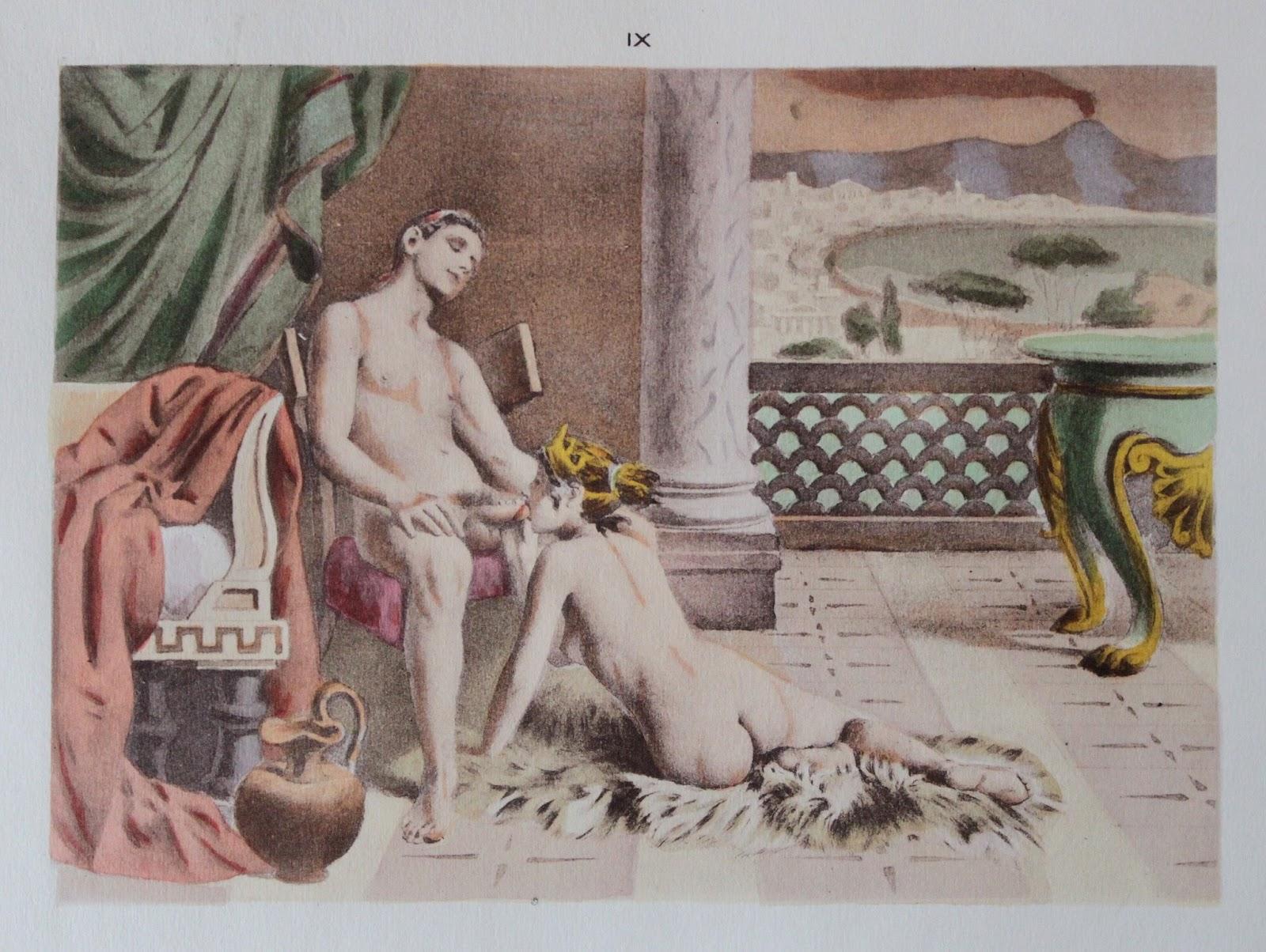 Оргии в древней греции