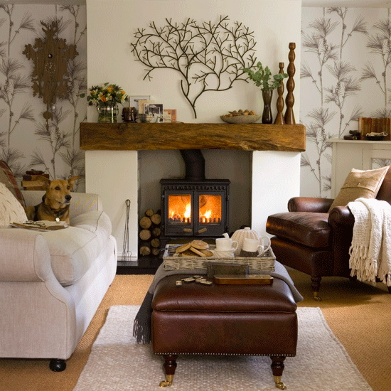 Fall Fireplace Mantels: The Adventures Of Olive & Gallon: Fall Fireplace Mantels